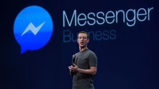 Download Video Facebook F8: Mark Zuckerberg Opens Up Messenger App to Developers MP3 3GP MP4