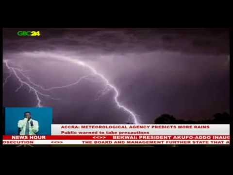 Accra: Meteorological Agency predicts more rains in 2018