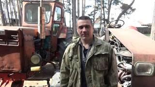 Ремонт трактора Т-40 АМ ч № 10, сделали зажигание раньше ,нашли где секло.