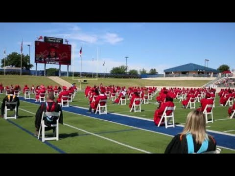 Waco High School graduation 2020