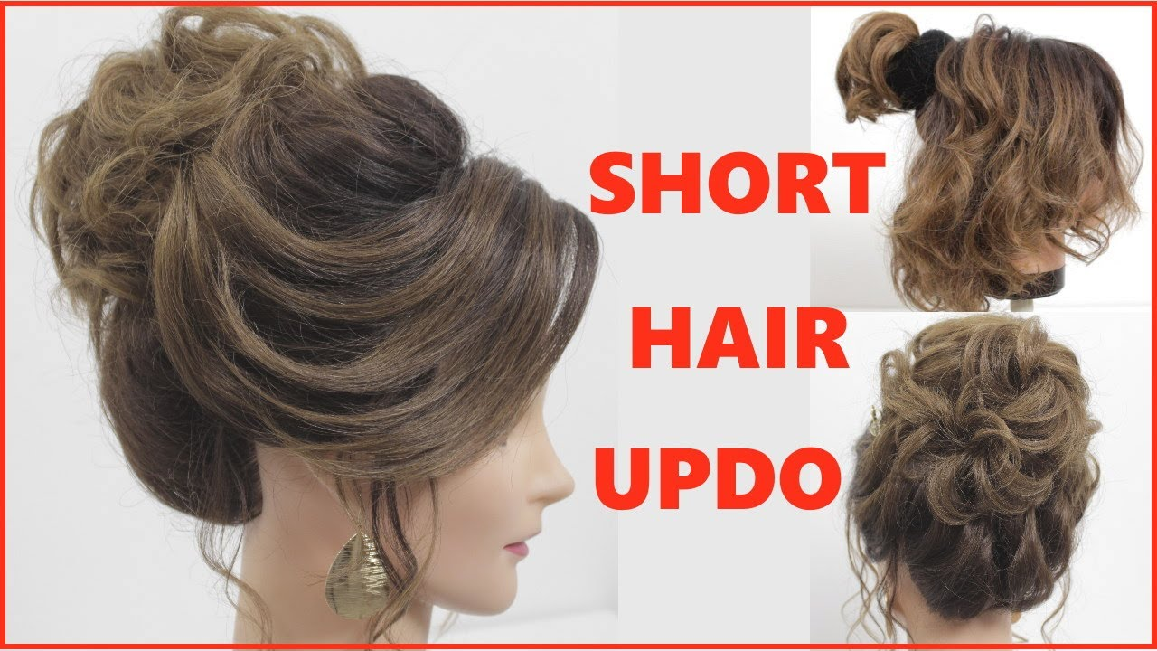 Easy Hairstyle For Short Hair New Hairstyle Hair Style Girl Simple Hairstyle Best Hairstyle Youtube