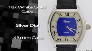 Chopard Erotic Automaton 18K WG Automatic Watch
