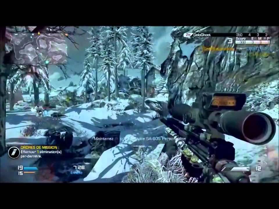 Call Of Duty Ghost   Fuckin' Multi Kill Snip Montage #1   PS4