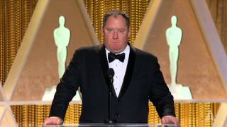 John Lasseter honors Hayao Miyazaki at the 2014 Governors Awards