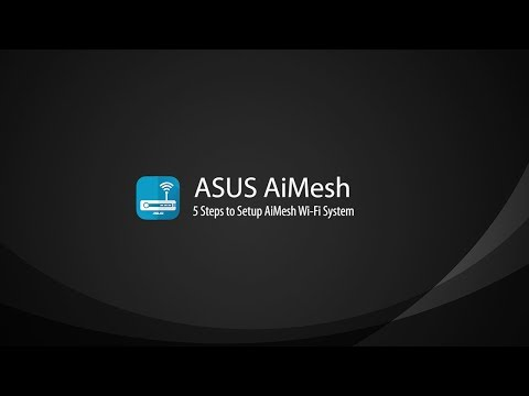ASUS AiMesh AX6100 WiFi System: ASUS RT-AX92U 2 Pack - The