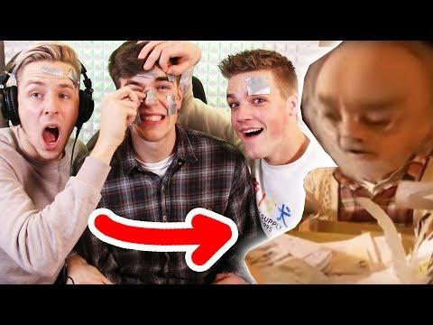 YouTube Kacke NICHT LACHEN Challenge 😐😂 (+Klebeband)