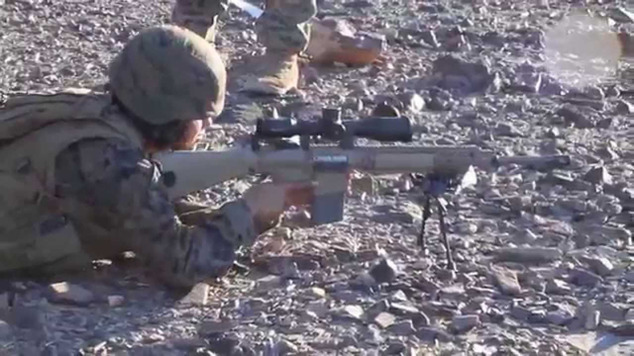 The M110 SASS Suppressed and un-Suppressed - YouTube M110 Sniper Rifle Suppressed