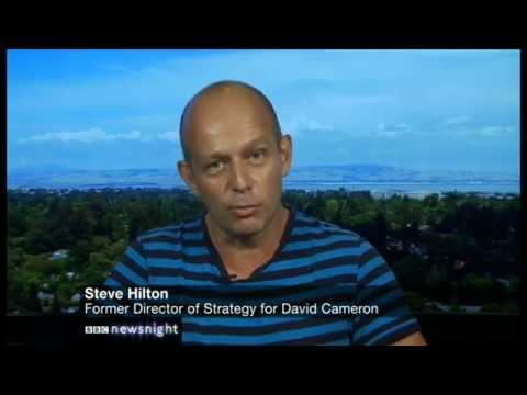 "Steve Hilton on China and a day of ""humiliation"" for the UK - Newsnight"