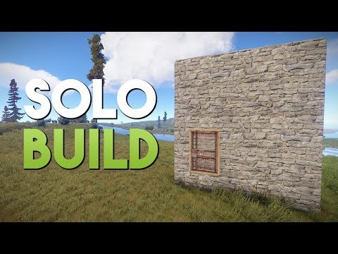SOLO BUILD! - Rust SOLO Survival #2 | S3