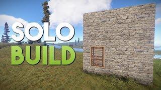 SOLO BUILD! - Rust SOLO Survival #2 | S3