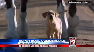30 second Super Bowl ads sell for $4.5 million