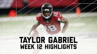 Taylor Gabriel's 2 TD Day! | Cardinals vs. Falcons | NFL Week 12 Player Highlights