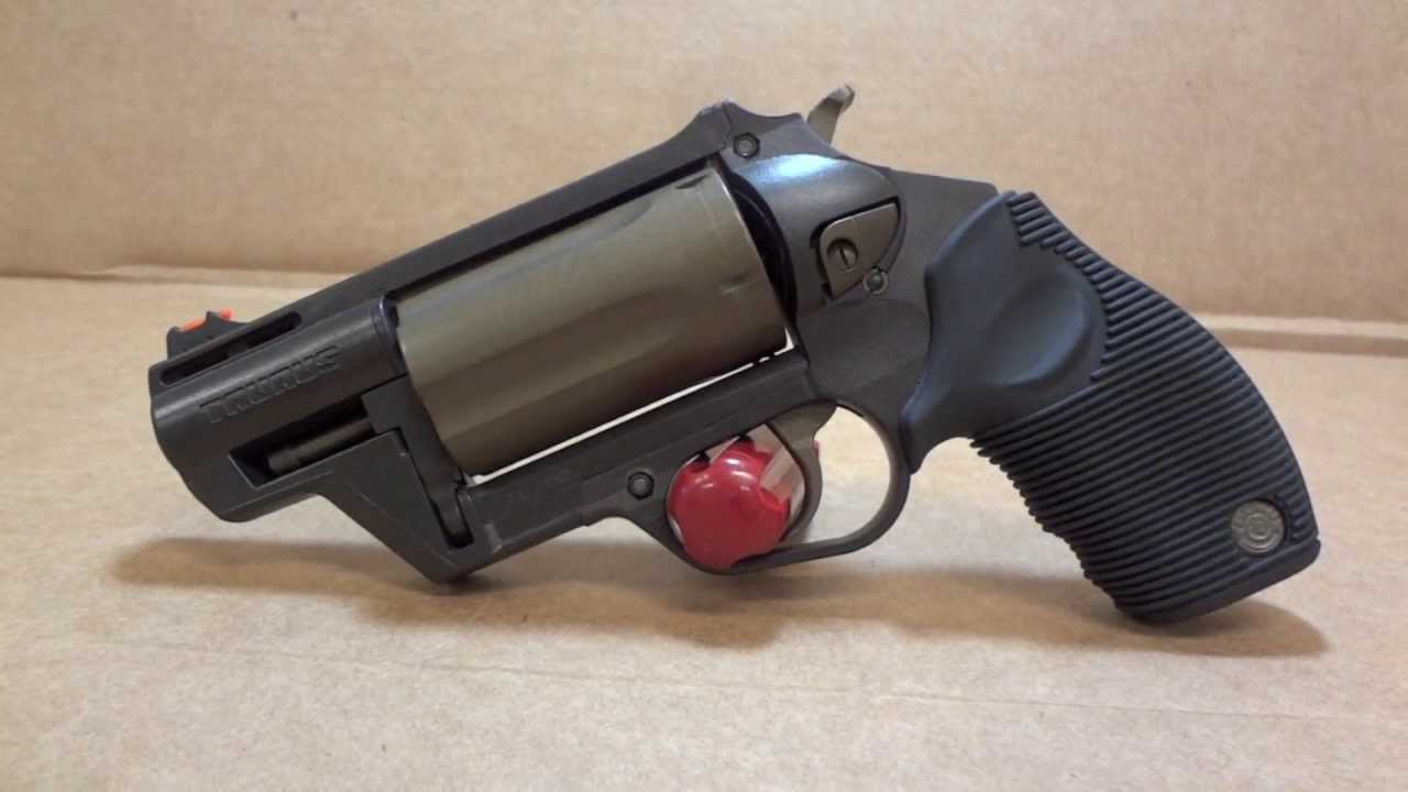 Taurus Judge Public Defender Polymer Revolver with Midnight & Burnt Bronze  Cerakote