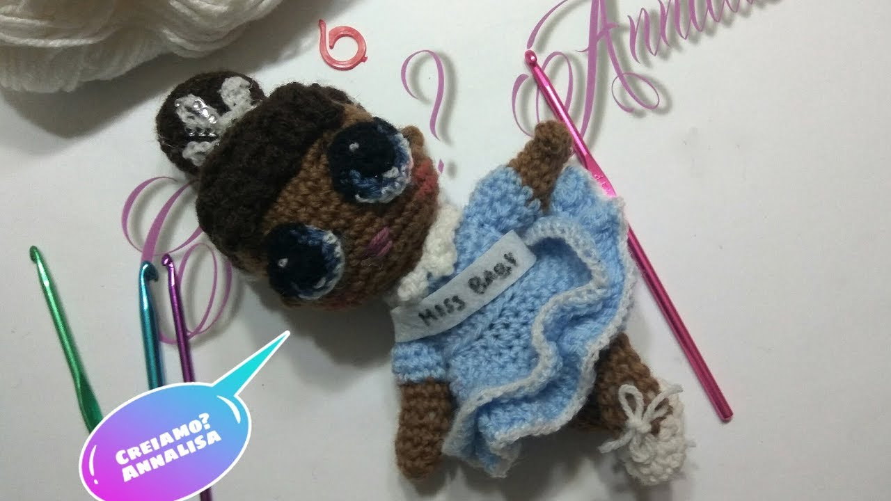 Lol surprise amigurumi crochet uncinetto miss baby facile SUB-ESP