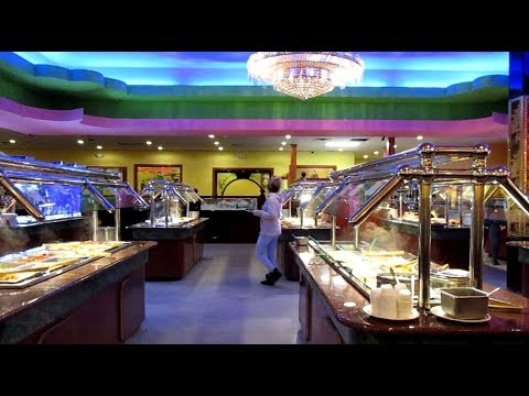 Eating Out At A Chinese Buffet Hibachi Grill