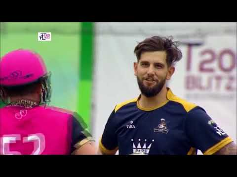 Roelof van der Merwe 75* from 34 balls - Hong Kong T20 Blitz