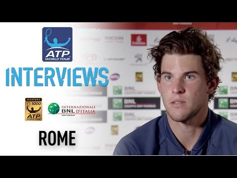 Thiem Reacts To Nadal Win Rome 2017