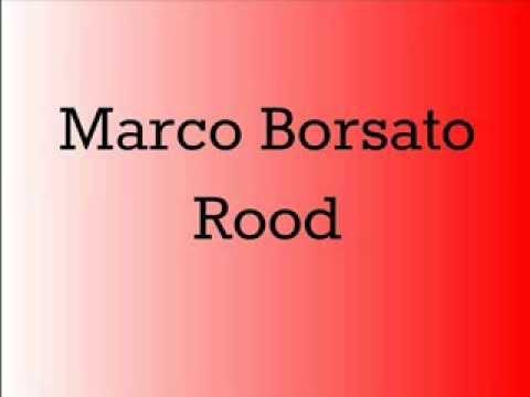 Marco Borsato- Rood (LYRICS)