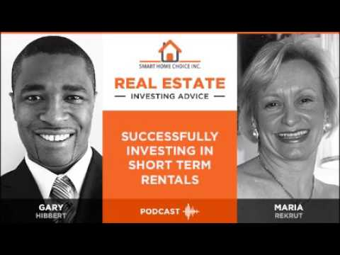 Smart Home Choice Podcast - Episode 26:  Investing in Short Term Rentals