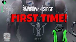First Time Playing Rainbow Six Siege [PC]