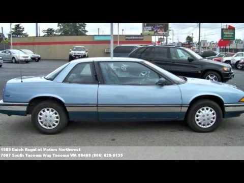 1989 Buick Regal 1995 At Motors Northwest Youtube