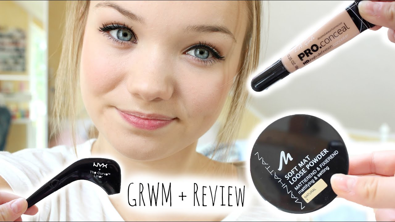 Get Ready With Me Review Nyx The Curve Beste Mascara Ever