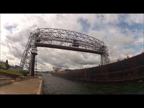 American Integrity & Michipicoten pass in the harbor