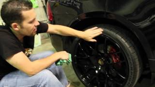 Silk Shine Sprayable Dressing Natural Shine - How To Dress Tires Like a PRO Chemical Guys