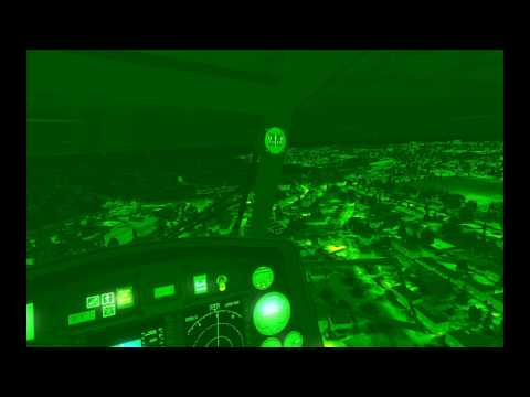 FSX NIGHT VISION TIGRE EC-665 - Pilotage et vidéo par BOUBA-57