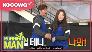 Piggy back game [Running Man Ep 384]