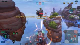 Cloud Pirates PC gameplay - Free to play multiplayer airship combat