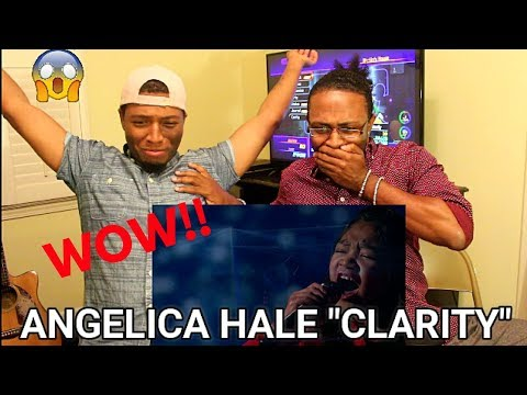"Angelica Hale: 9-Year-Old Sings Incredible ""Clarity"" Cover - AGT 2017 (REACTION)"