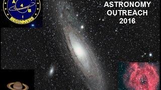 A4B Astronomy outreach.