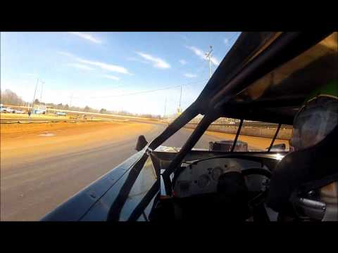 Jason Wilson #22 Hot Laps at the Cabin Fever Race at Boyds Speedway