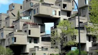Habitat 67 - Montréal (Moshe Safdie)