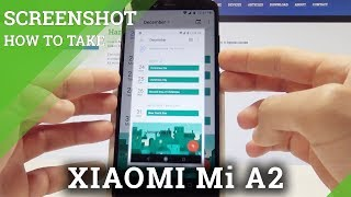 How to Take Screenshot XIAOMI Mi A2 - Capture Screen Instructions