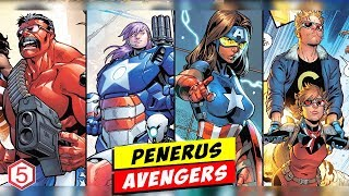 Setelah Avengers: End game , inilah Avengers Baru Generasi Penerus Para Avengers Lama