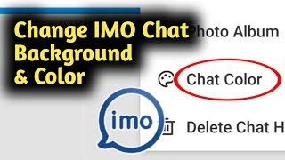 Change IMO Chat Background & Color screenshot 3