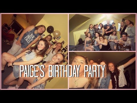 Paige's Birthday Party 2018!
