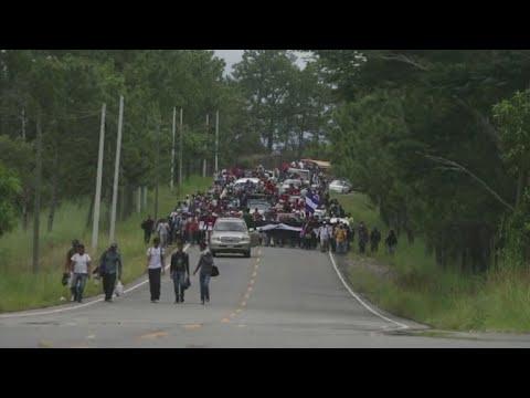 Immigrant crisis on the Mexico-Guatemala border