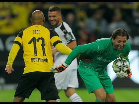 BVB Allstars vs. Roman & Friends | All Goals and Highlights from Weidenfeller's Testimonial