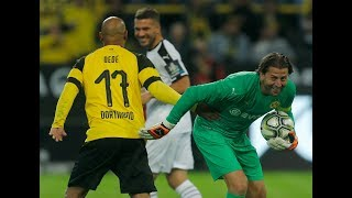 BVB Allstars vs. Roman & Friends | All Goals and Highlights from Weidenfeller