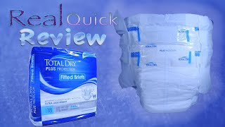Real Quick Review Total Dry Plus Protection Adult brief  #adultDiaper