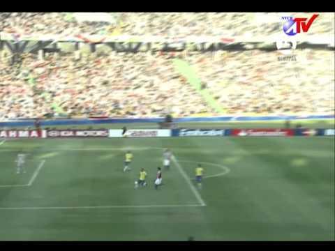 Copa America Brasil 01 Vs Paraguay 2 gol de Nelson Haedo 09 Julio 2011