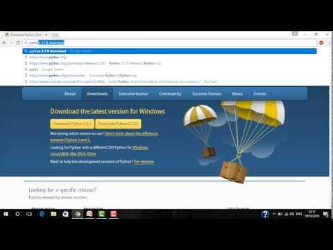 wxPython tutorial 2: Download and Install wxPython