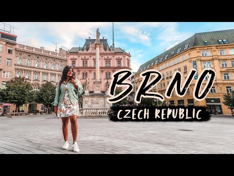BRNO, CZECH REPUBLIC - I Didn't Expect BRNO To Be THIS Beautiful! 🏰 Vlog #3