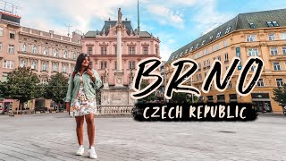 BRNO CZECH REPUBLIC - I Didn't Expect BRNO to be THIS beautiful! 🏰 Vlog
