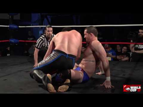 Kyle O'Reilly vs Mike Bailey Pro Wrestling World Cup Canada  2nd Round