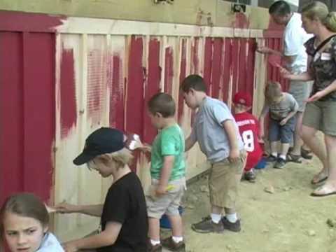 Glynwood Farm Barn Raising Party - YouTube