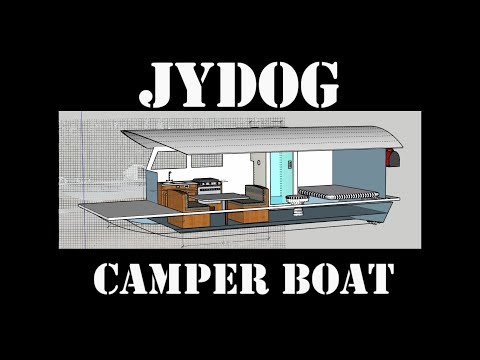 Tiny Off Grid Boat Camper Build 1